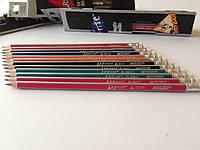 Карандаш простой чернографитный Marco Grip-Rite HВ,розовый  для рисования,графики и черчения.Простой карандаш
