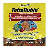 Tetra RUBIN 12гр. - хлопья для усиления окраса аквариумных рыб