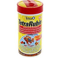 Tetra RUBIN 250ml - хлопья для усиления окраса аквариумных рыб