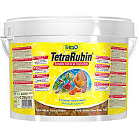 Tetra RUBIN 10L/2,05кг - хлопья для усиления окраса аквариумных рыб