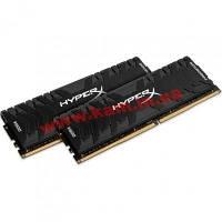 Оперативная память Kingston DDR4-3200 8192MB PC4-25600 (Kit of 2x4096) HyperX Pred (HX432C16PB3K2/8)