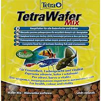 Tetra Wafer Mix 12/15гр - основной корм для донных рыб