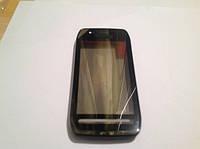 Сенсорный экран Nokia 603, черный, фото 1