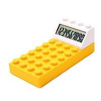 """Калькулятор """"LEGO"""" желтый"""