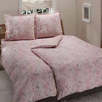 TAC Семейный комплект постельного белья сатин делюкс Shadow pink