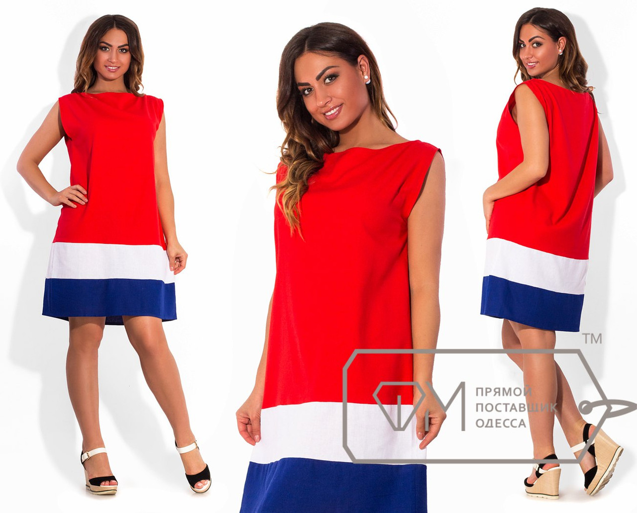 Красное платья батал купить