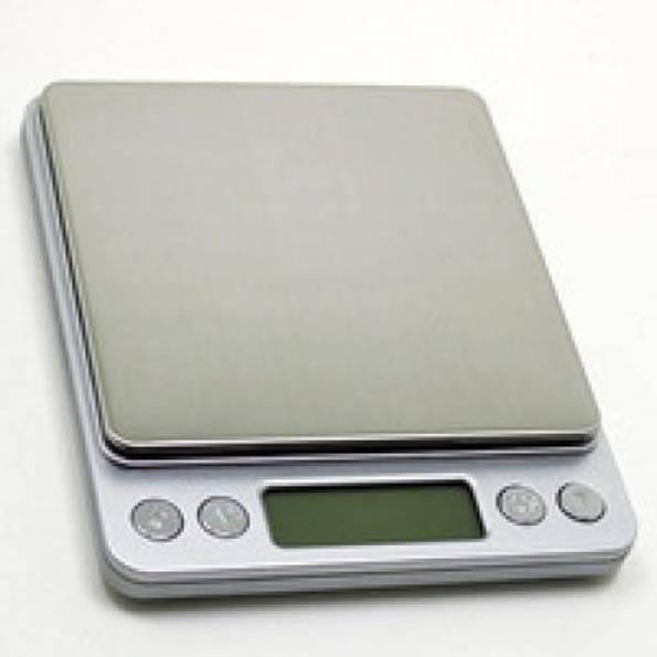 Профессиональные ювелирные весы до 3 кг-шаг 0,1 г (2 чаши)