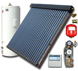 Солнечная система нагрева воды Hi-Min Solar HTI-II-200 (200 л)