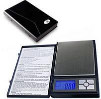 Весы ювелирные до 2кг (шаг 0,1г) в виде блокнота