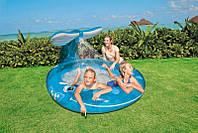Детский надувной бассейн с фонатном Веселый кит Intex 57435 , фото 1