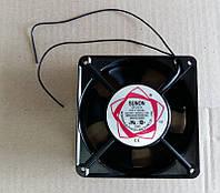 Вентилятор осевой универсальный SUNON  DP200A / 120мм*120мм*38мм / 220-240V / 0,14А / 17W (КВАДРАТНЫЙ)
