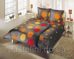 TAC Семейный комплект постельного белья  Polly gri