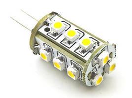 Лампа Lemanso св-ая G4 15LED 1W 45LM 4500К 12V 3528SMD/ LM201
