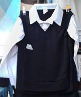 Рубаша-обманка на мальчика ,  6-10 лет, Турция