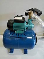 Насосная станция Vector Pkm60 + 24 литра бак, 400 ватт, медная обмотка двигателя, qb60, гидрофор, фото 1