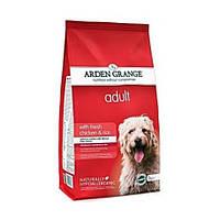 Arden Grange Adult Корм для взрослых собак с курицей и рисом 12кг