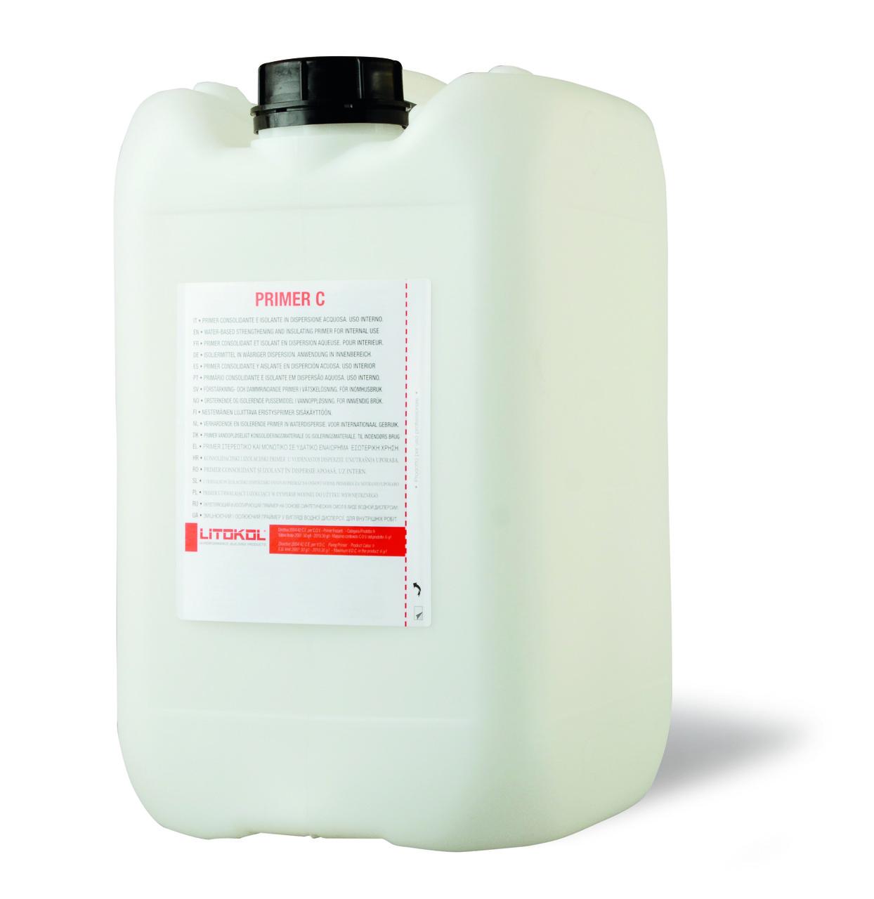 Грунтовка глубокого проникновения Litokol PRIMER C(литокол праймер с) 5 кг