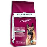 Arden Grange Adult Premium Корм для взрослых активных собак 12кг