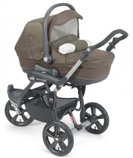 Коляска детская 2 в 1 CAM Cortina Duetto X3 Evo