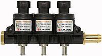 Газовые форсунки Hana Rail 2002 Type B, 3 цилиндра (красные 78-117 HP)