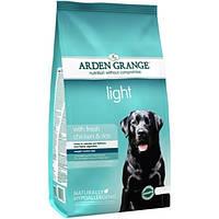 Arden Grange Adult Dog Light Корм для собак с избыточным весом 12кг