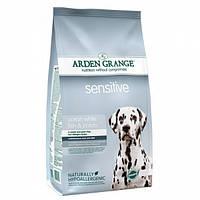 Arden Grange Adult Sensitive Беззерновой корм для собак с чувствительным пищеварение 12кг