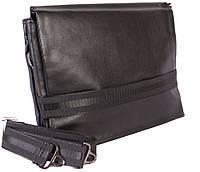 Вместительная сумка из прессованной  кожи формата А4 29х35,5х6-9см.