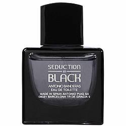 Мужская туалетная вода Antonio Banderas Seduction in Black for men , 100 мл