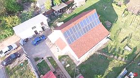 Монтаж и модернизация гибридной солнечной электростанции для частного дома под Зеленый тариф мощностью 5 кВт  1