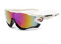 Очки Oakley JawBreaker, цвет белый/черный