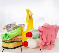 Средства для уборки кухни и ванной комнаты