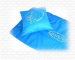 Одеяло детское стеганое с именем