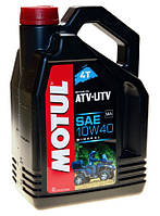 Масло моторное Motul ATV-UTV 4T 10W-40 4л