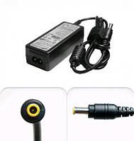 Зарядка для ноутбука Samsung класса А: напряжение 19 В, ток 2,1 А, мощность 40 Вт, штекер 3,0х1,0 мм
