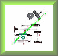 Инструменты для демонтажа авто-стекол Jonnesway AB010002