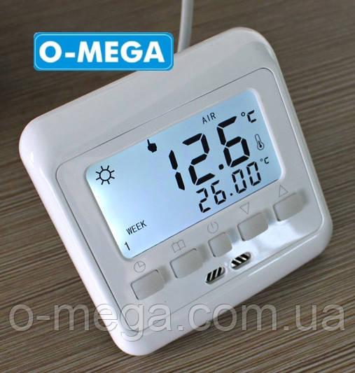 Терморегулятор программируемый Floureon C08 H3 для теплого пола с датчиком температуры