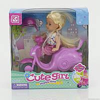 Кукла маленькая с мотоциклом, в коробке (ОПТОМ) К 899-23