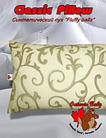 Classic Pillow, 60х40, Пух синтетический Fluffy balls, от 2 лет, 400 гр., п/э пакет - ART-0000112