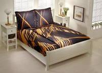 TAC Семейный комплект  постельного белья Vega gold