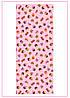 Вафельное  полотно Кексики розовый