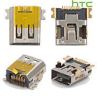 Коннектор зарядки для HTC F3188 Smart, оригинал