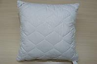 Подушка, чехол стеганый из микрофибры, хлопок, 70*70