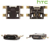 Коннектор зарядки для HTC S720e One X, оригинал