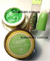 Гель-паста 3D Embossing gel №06 зеленая