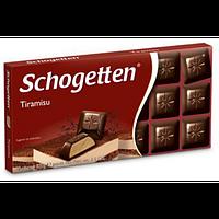 Черный шоколад Schogetten  «Tiramisu» (тирамису) 100 г