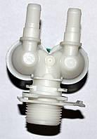Клапан подачи воды (заливной) для стиральной машинки  Bosch 174261;428210 2/180 с тонкими выходами