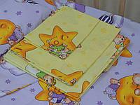 Детское постельное белье 5 В 1 желтый