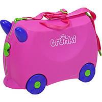 Детский чемоданчик дорожный Trunki Trixie