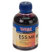 Чернила WWM для Epson Stylus Photo R800/R1800 200г Matte Black Водорастворимые (E55/MB) светостойкие