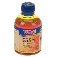 Чернила WWM для Epson Stylus Photo R800/R1800 200г Yellow Водорастворимые (E55/Y) светостойкие